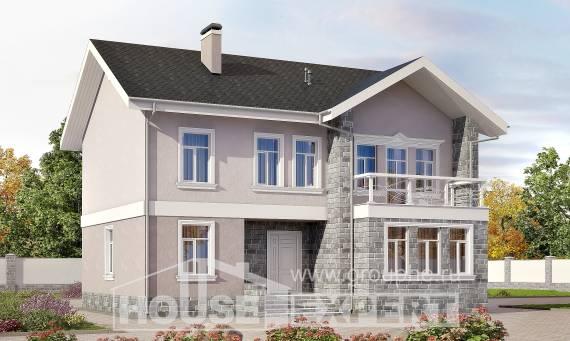 Проекты домов из бруса - Загородный дом
